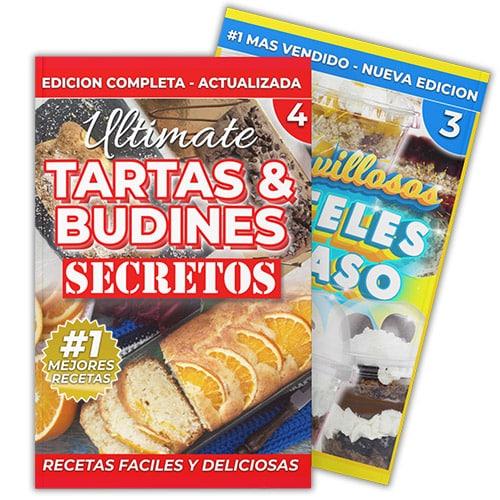 OFERTA Maravillosos Pasteles en Vasos + Tartas y Budines - eLibro